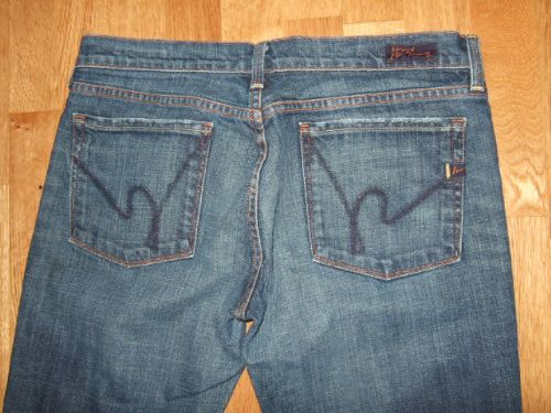 CITIZENS OF HUMANITY Kelly #001 Stretch Low Waist Bootcut Jeans 31 30.5
